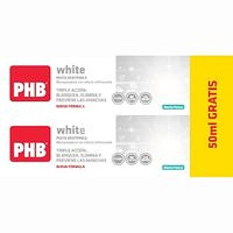Phb Pack white pasta pack 2x100+50 ml