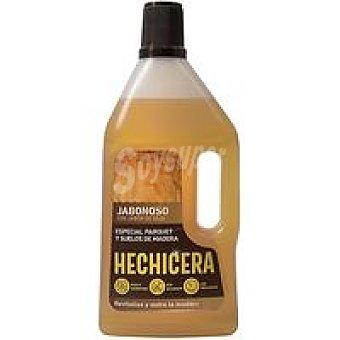 Hechicera Limpiador jabonoso suelo de madera Garrafa 750 ml