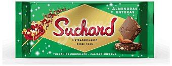 Suchard Turrón de Chocolate Leche con Almendras enteras y Arroz Inflado 260 g