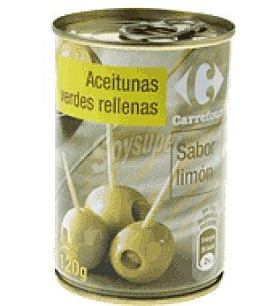Carrefour Aceitunas rellenas de limón  Lata 120 g