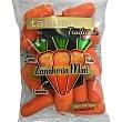 Zanahoria mini pelada lista para comer bolsa 250 g bolsa 250 g Tabuenca