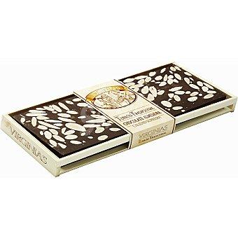 Virginias Turrón tradicional de chocolate con almendras Tableta 500 g