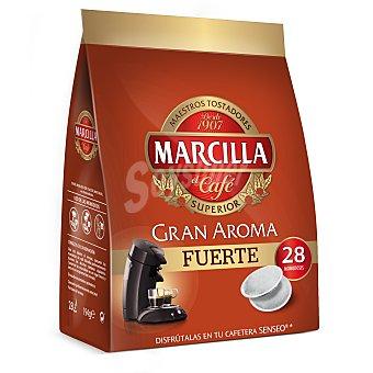 Marcilla Café mezcla en cápsulas  Bolsa 28 u (194 g)