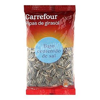 Carrefour Pipas de girasol con bajo contenido en sal 125 g