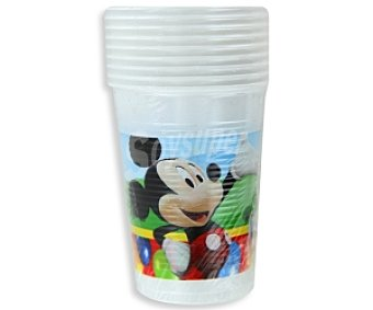 MICKEY Party Vaso Plástico  200cc 10u