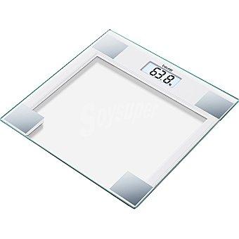 Beurer Báscula digital de cristal blanco