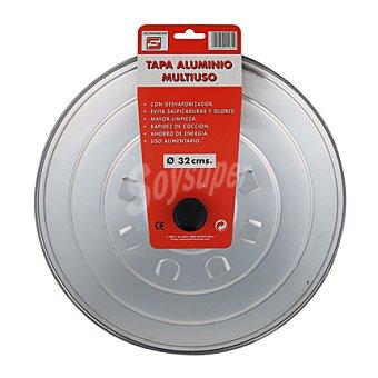 Carrefour Tapa aluminio multi.tecnho32cm 1 ud