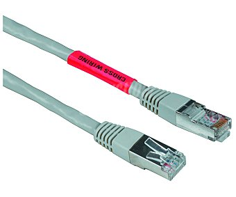 QILIVE RJ45 Cable RJ45 8P8C cruzado qilive, cat 5E, longitud 1,5 metros 45 cruzado 1,5m