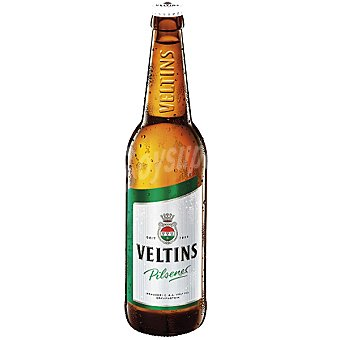 VELTINS Pilsener Cerveza rubia Alemania Botella 33 cl