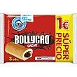 Rellenos de cacao 3 unidades Paquete 135 g Bollycao