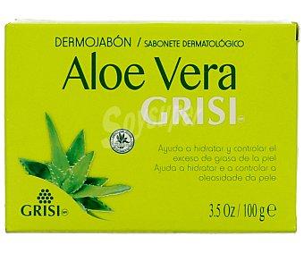 GRISI Dermojabón enriquecido con aloe vera y cold cream (limpia en profundidad, hidrata, regenera y conserva el equilibrio natural de la piel) 100 mililitros