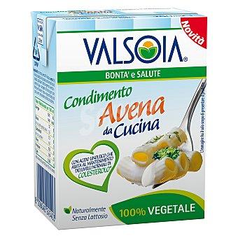 VALSOIA Condimento vegetal de avena 200 ml