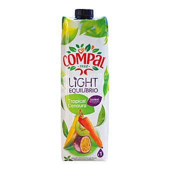 Compal Néctar light tropical de frutas y zanahoria 1 L