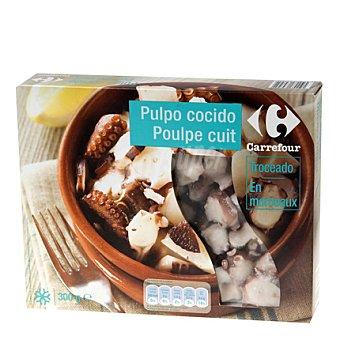 Carrefour Pulpo cocido cortado 300 g