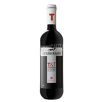 Berberana Vino de la Tierra de Castilla T&T Tempranillo y Tapas tinto 75 cl
