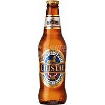 Cerveza peruana cristal, 33 cl Botellín 33 cl