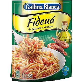 GALLINA BLANCA IDEAS AL PLATO Fideua de pescado y marisco sobre 126 g Sobre 126 g