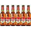 Cerveza rubia sin gluten  pack 6 botellas 25 cl Dorada