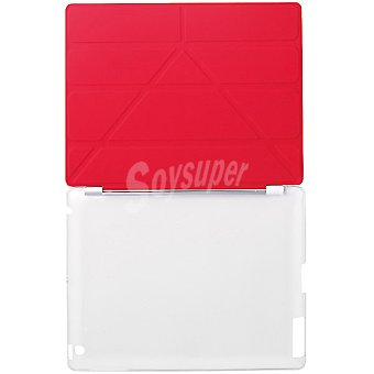 ANSONIC Funda Ipad Mini Smart Cover en color rojo