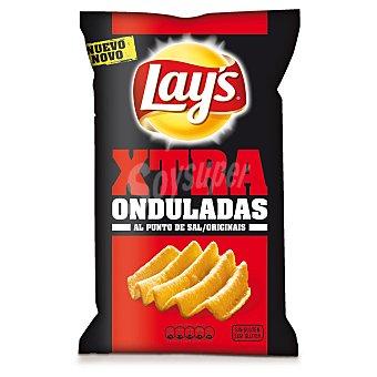 Lay's Xtra Onduladas Patatas fritas al punto de sal  Bolsa 147 g