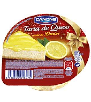 Danone Tarta de queso con coulis de limón 100 g