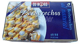 Dunord Berberechos natural 60/80 piezas Lata 120 g escurrido