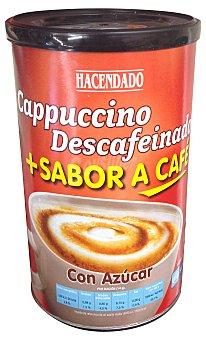 HACENDADO Café soluble capuccino descafeinado  Bote de 250 g