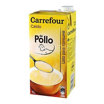 Carrefour Caldo de pollo 1 l