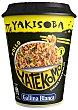Fideos orientales pollo Yakisoba Vaso de 93 g Yatekomo Gallina Blanca