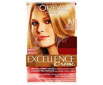 Excellence L'Oréal Paris Tinte rubio nº 9.1 2u