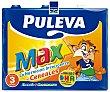 Leche de crecimiento, enriquecida con cereales, calcio, hierro, 12 vitaminas y Omega 3 6 x 1 l Puleva Max