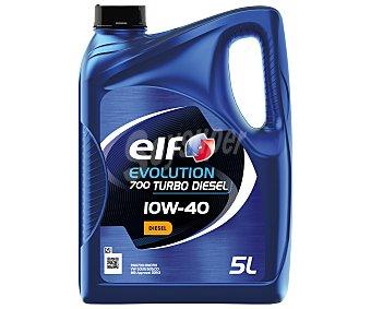 Elf evolution 700 Aceite sintético para motores turbo diésel 5 litros