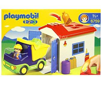 PLAYMOBIL 1.2.3 Camión con garaje (6759)