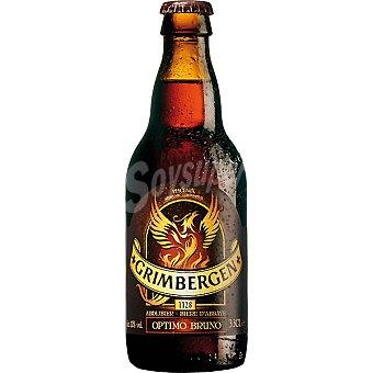 Grimbergen Cerveza rubia belga Optimo Bruno Botella 33 cl