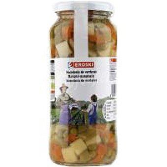 Eroski Macedonia de verduras Frasco 325 g