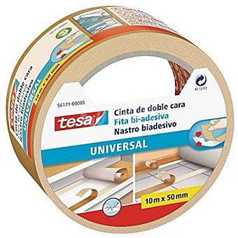 Tesa Cinta universal doble cara 10 Metros de 50 Milimetros