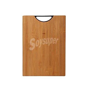 Bergner Tabla de Corte Bamboo Nature 35X25x3 cm - Madera 1 ud