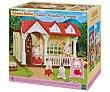 Playset La dulce casita de las frambuesas con 1 figura y accesorio incluido, Families. Sylvanian Families