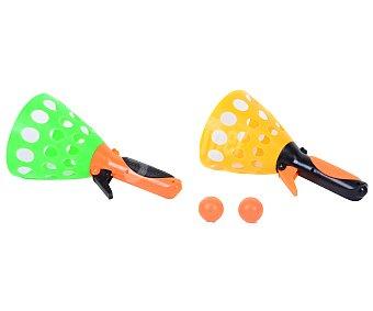 Juguete exterior Juego lanzador de bolas con 2 disparadores, EXTERIOR.