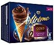 Helado cono gold chocolate Pack 4 x 110 ml  Extrême Nestlé