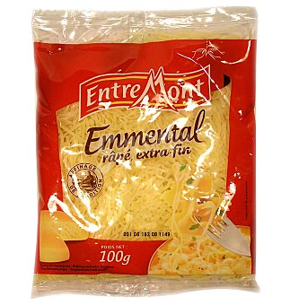 Entremont Queso rallado emment 100 GRS