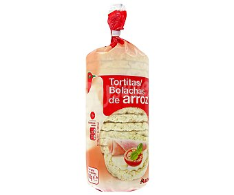 Auchan Tortitas de arroz Bolsa 130 g