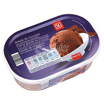 DIA Helado de chocolate con trocitos de chocolate barqueta 500 gr