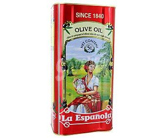 LA ESPAÑOLA Aceite de oliva suave 0,4º Lata 5 l