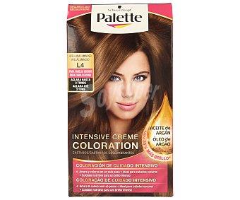 Palette Schwarzkopf Tinte Intensive Creme Coloration L4 Avellana Luminoso 1 unidad