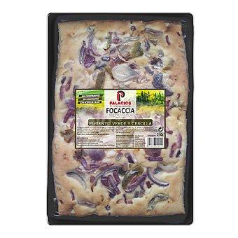 Palacios Focaccia con pimiento verde y cebolla 250 g