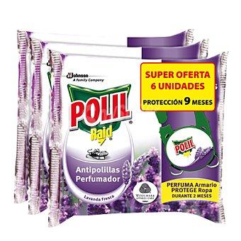Polil Raid Pinza antipolilla lavanda fresca 6 ud