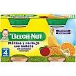 tarrito plátano naranja y galleta 100% fruta sin gluten y sin azúcares añadidos pack 2 tarro 130 g Beech-Nut