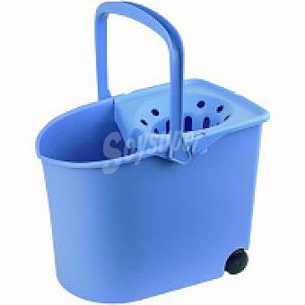 Tatay Cubo escurridor con ruedas azul Pack 1 unid