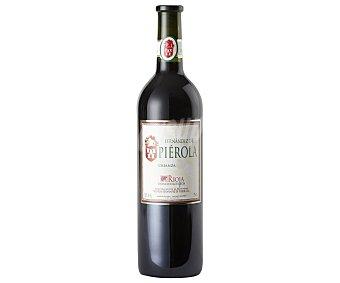 FERNÁNDEZ DE PIÉROLA Vino tinto crianza tempranillo con denominación de origen Rioja botella de 75 centilitros